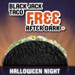 Taco Bell black jack taco promo