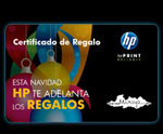Certificado de regalo HP Mix Up