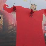 Adidas_El Poder de la Roja_ambient marketing