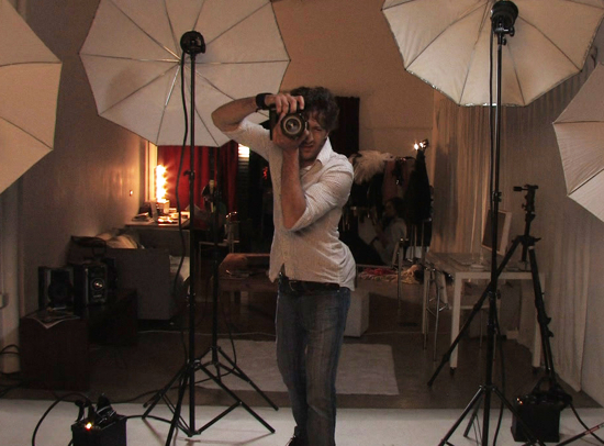 Casting Playboy - Fotografo