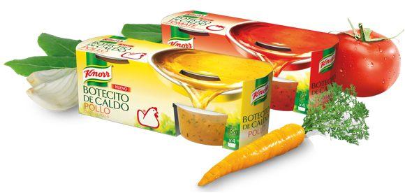 Knorr botecitos de caldo
