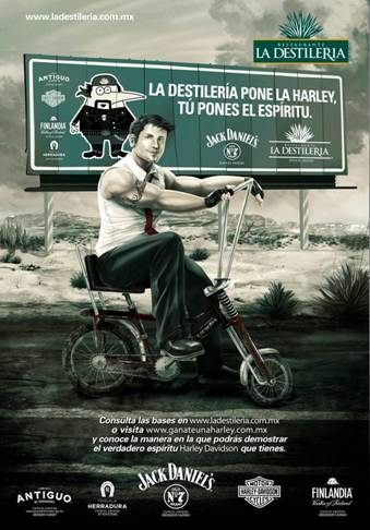 La Destileria_Harley Davidson promo