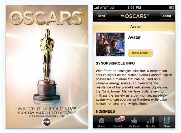 oscars app