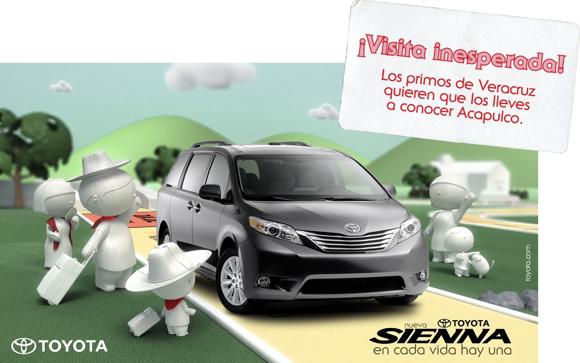 Toyota Sienna campaign 01
