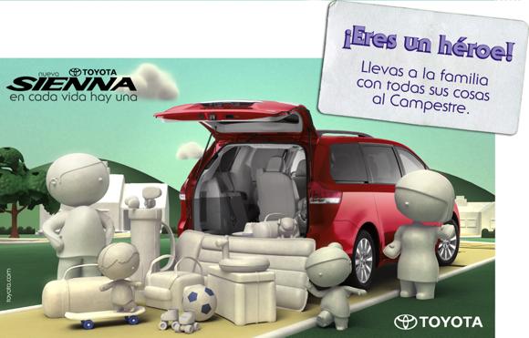 Toyota Sienna campaign 02