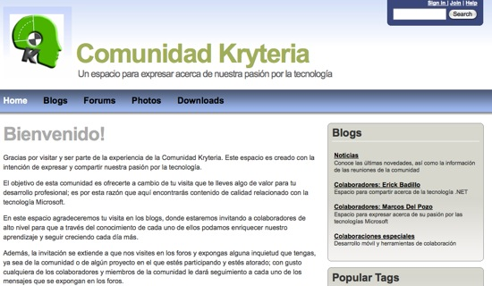 page kryteria