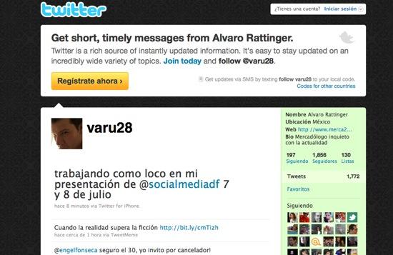 Twitter Alvaro Rattinger