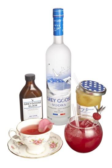 550 - Grey Goose White Tie & Tiara 2010 Cocktails w bottle B