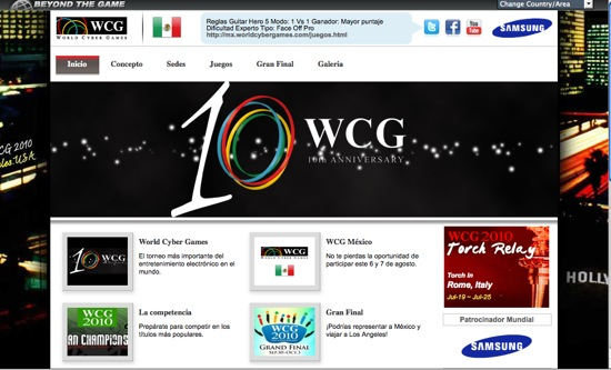 page WCG 550