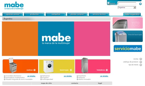 page mabe argentina