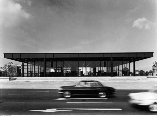 Neue Nationalgalerie bldg in Berlin