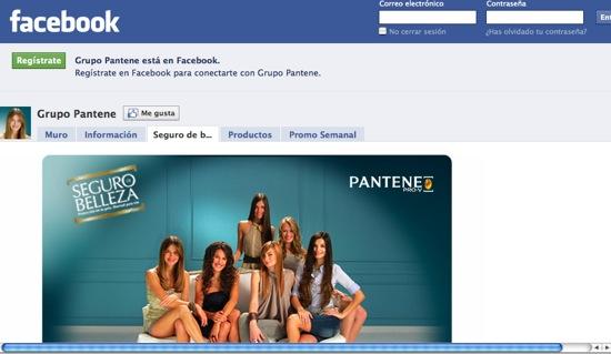 facebookpantene