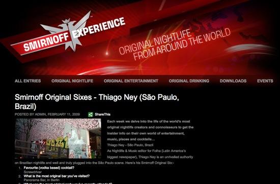 page sminorff experience