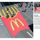 ambient guerrilla McDonalds C