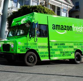Amazon entrega de alimentos en Espana