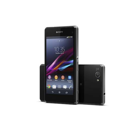 Xperia Z1 Compact Negro Back&Front