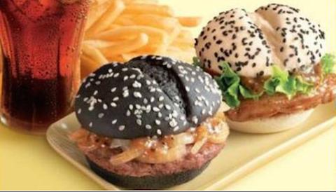 pareja de hamburguesas