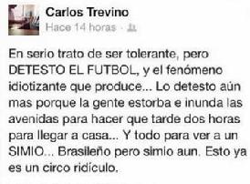 Carlos Treviño Facebook