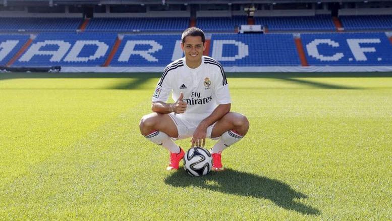 Javier Hernández el jugador mexicano con más seguidores en Twitter