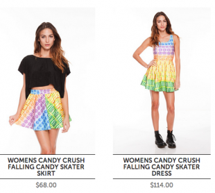 Candy Crush Saga Clothes