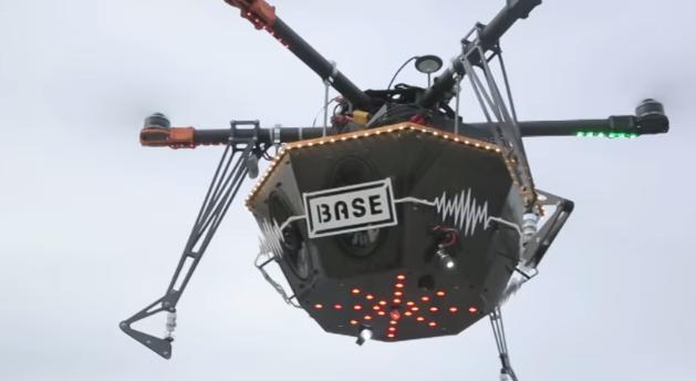 Drone Spotify y BASE