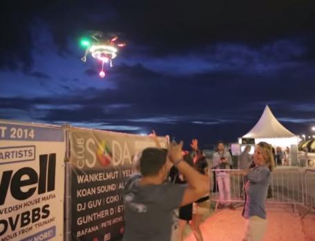 Drone Spotify Base