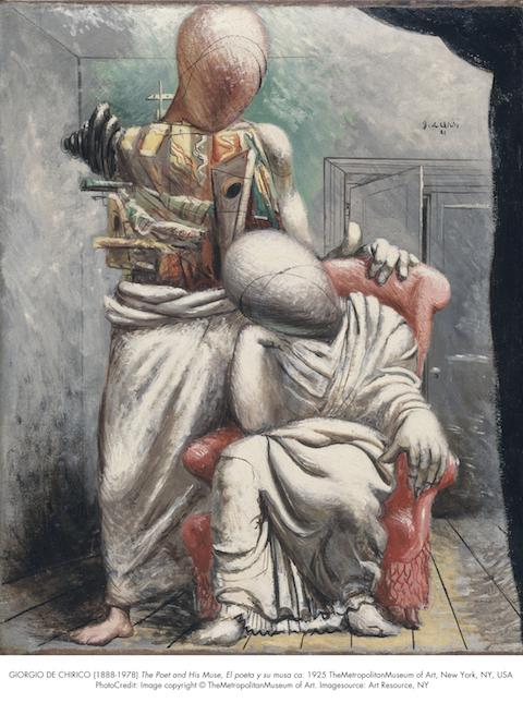 Giorgio di Chirico_The Poet and His Muse