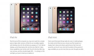 Lo que no sabías de los nuevos iPad Air 2 e iPad Mini 3