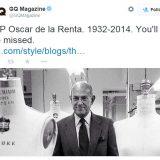Oscar de la Renta muere a los 82 años-cqmagazine