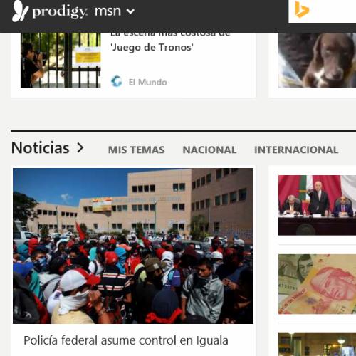 Prodigy Msn Renueva Imagen Below The Line Retail