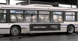 Publicidad en autobuses Cancer rectal