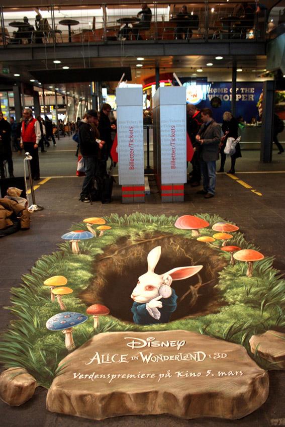 Alice in Wonderland, Disney. Manfred Stader