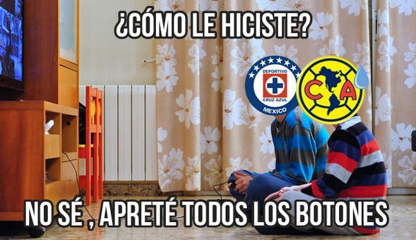 Memes #CruzAzulVSAmérica