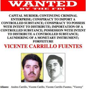 Capturan a Vicente Carrillo Fuentes