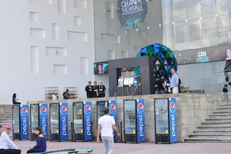 Pepsi en la Ciudad de las Ideas