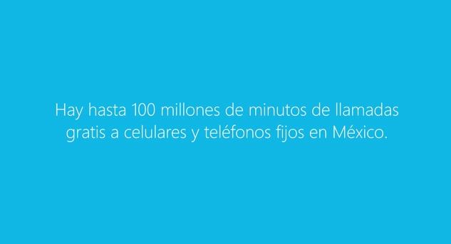 Skype regala 100 millones de minutos en llamadas gratis