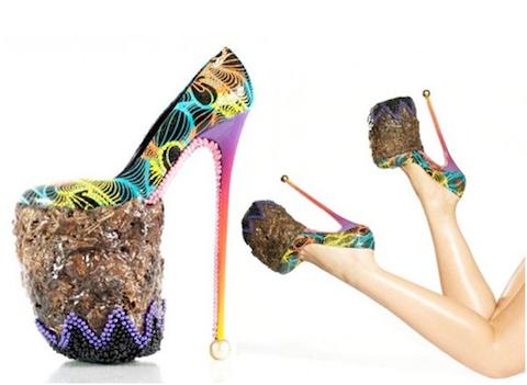 10 creativos pero raros y exóticos zapatos  6