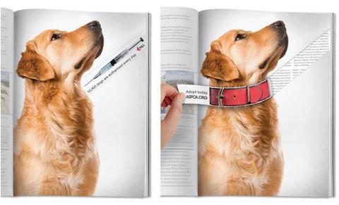 10 creativos y geniales anuncios a doble página 8