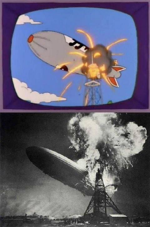 10 imágenes que evidencian de dónde salió la historia de Los Simpson 10