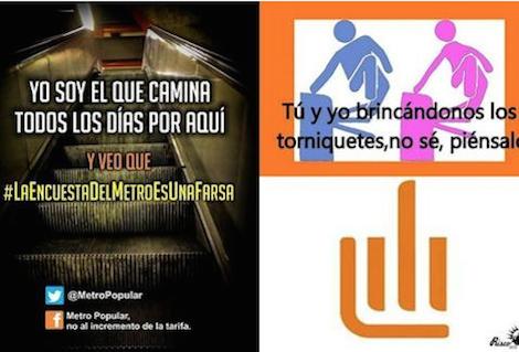 5 Mejores memes contra el alza en el Metro