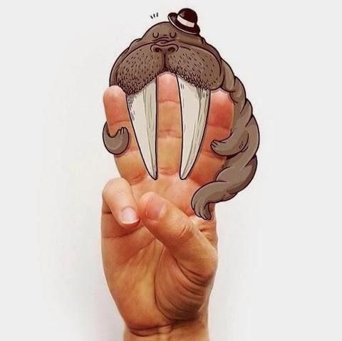 5 creativas imágenes que comunican con la mano 3