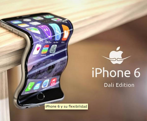 "5 creativos memes que aprovechan la ""flexibilidad"" del #iPhone6"