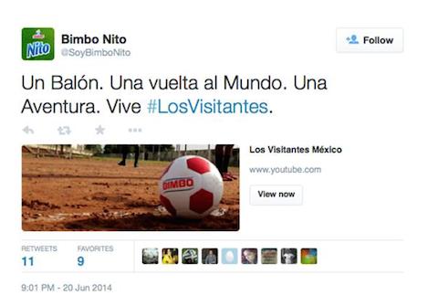 #LosVisitantes