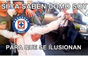 Meme Real Madrid vs Cruz Azul