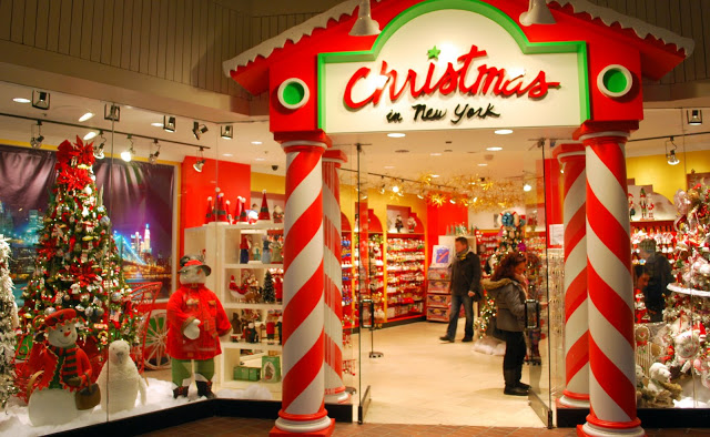 Navidad retail