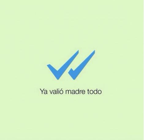 WhatsApp y los mejores memes por su doble paloma azul