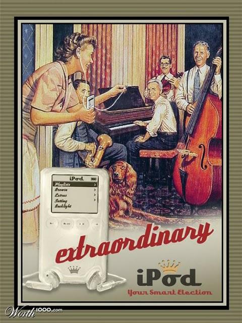 iPod vintage add