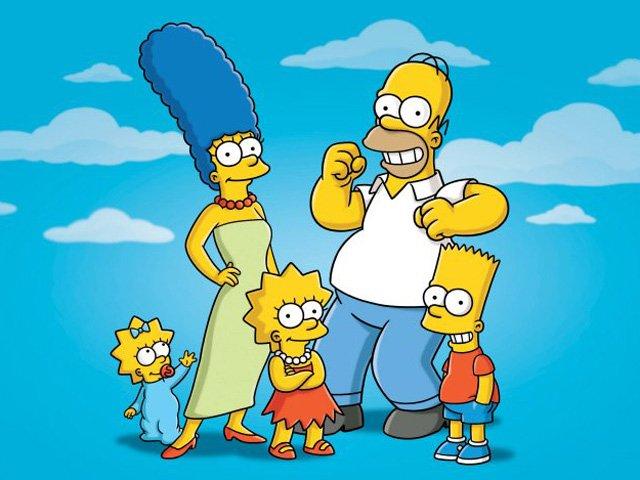 Feliz cumpleaños numero 30 Simpson