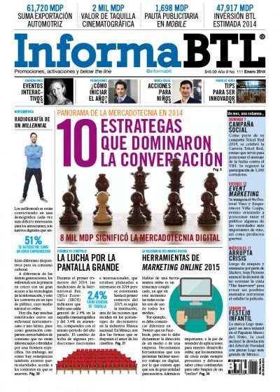 Portada InformaBTL, Enero 2015