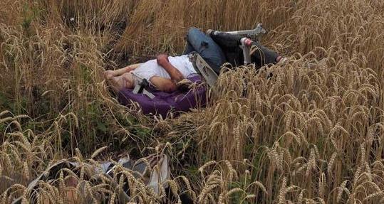 Fotografías más influyentes de 2014 - Una de las víctimas del accidente aéreo de Malaysia Airlines